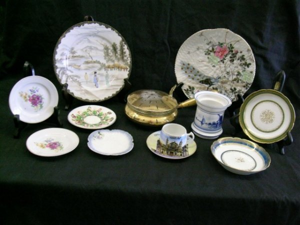 LOT OF MISC PLATES