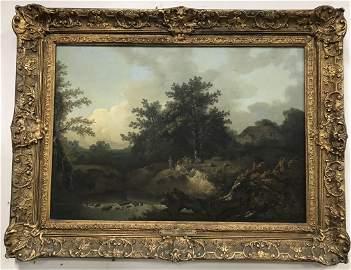 T Gainsborough(attr);18th C. English Oil