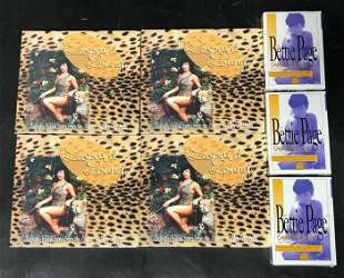 Lot Of Bunny Yeager Merchandise. Featuring Bettie Page
