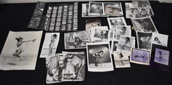 (61) Lot Of Bettie Page Photos