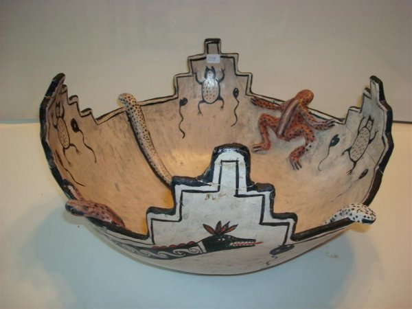 AMERICAN INDIAN POTTERY BOWL