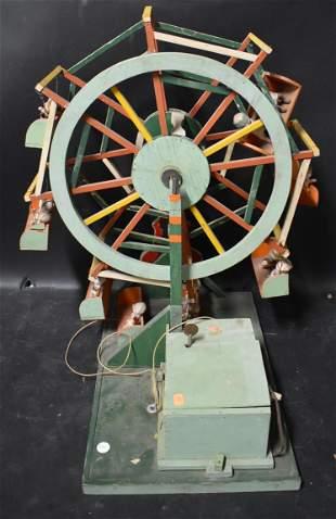 Electric Folk Art Ferris Wheel York, ME
