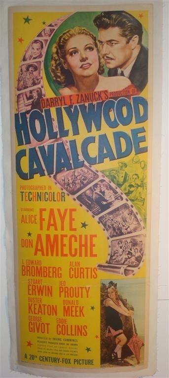 3: HOLLYWOOD CALVACADE,  FAYE, AMECHE