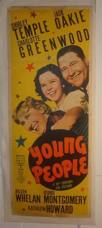 4: YOUNG PEOPLE,  TEMPLE, OAKIE GREENWOOD