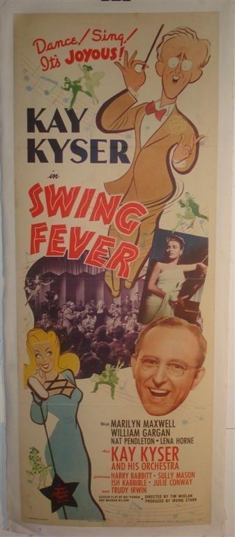 7: SWING FEVER,  KYSER, HORNE MOVIE POSTER