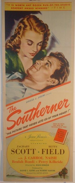 12: THE SOUTHERNER,  SCOTT, FIELD