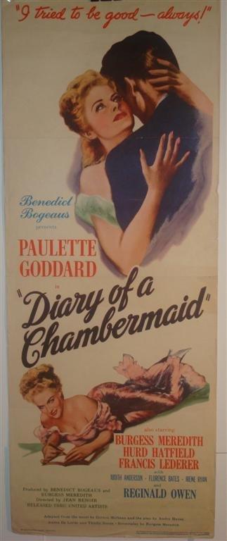 20: DIARY OF A CHAMBERMAID,  GODDARD