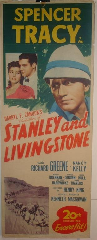 23: STANLEY AND LIVINGSTONE, TRACY, GREENE, KELLY