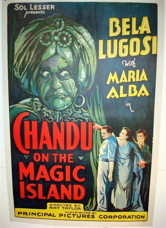 83: CHANDU ON THE MAGIC ISLAND,  LUGOSI