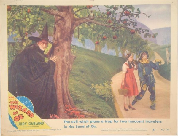 630: THE WIZARD OF OZ LC SIGNED BY MARGARET HAMILTON