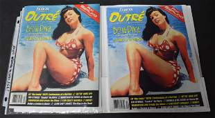 FilmFax Presents OUTRE 1995 Magazine Bettie Page On