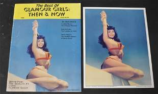 """""""The Best Of Glamour Girls Then & Now"""", 1995 Magazine &"""