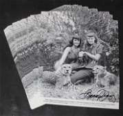 (25)+ Photos Bettie Page & Bunny Yeager 1954 (1) Photo