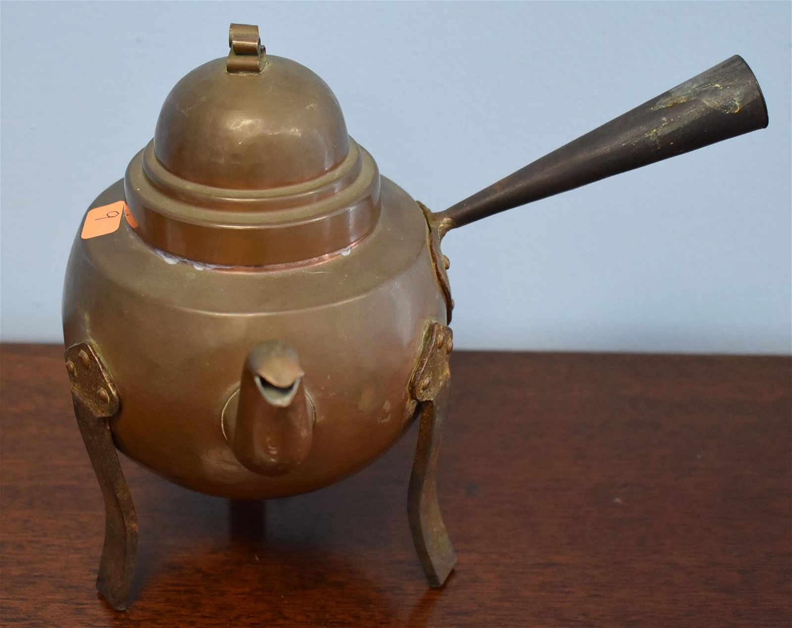 Swedish Skultuna Copper Tea Pot