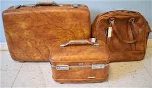 American Tourister Luggage Set 1960's
