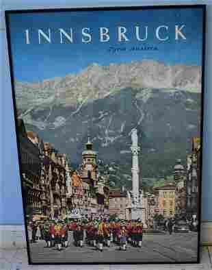 Innsbruck Travel Poster