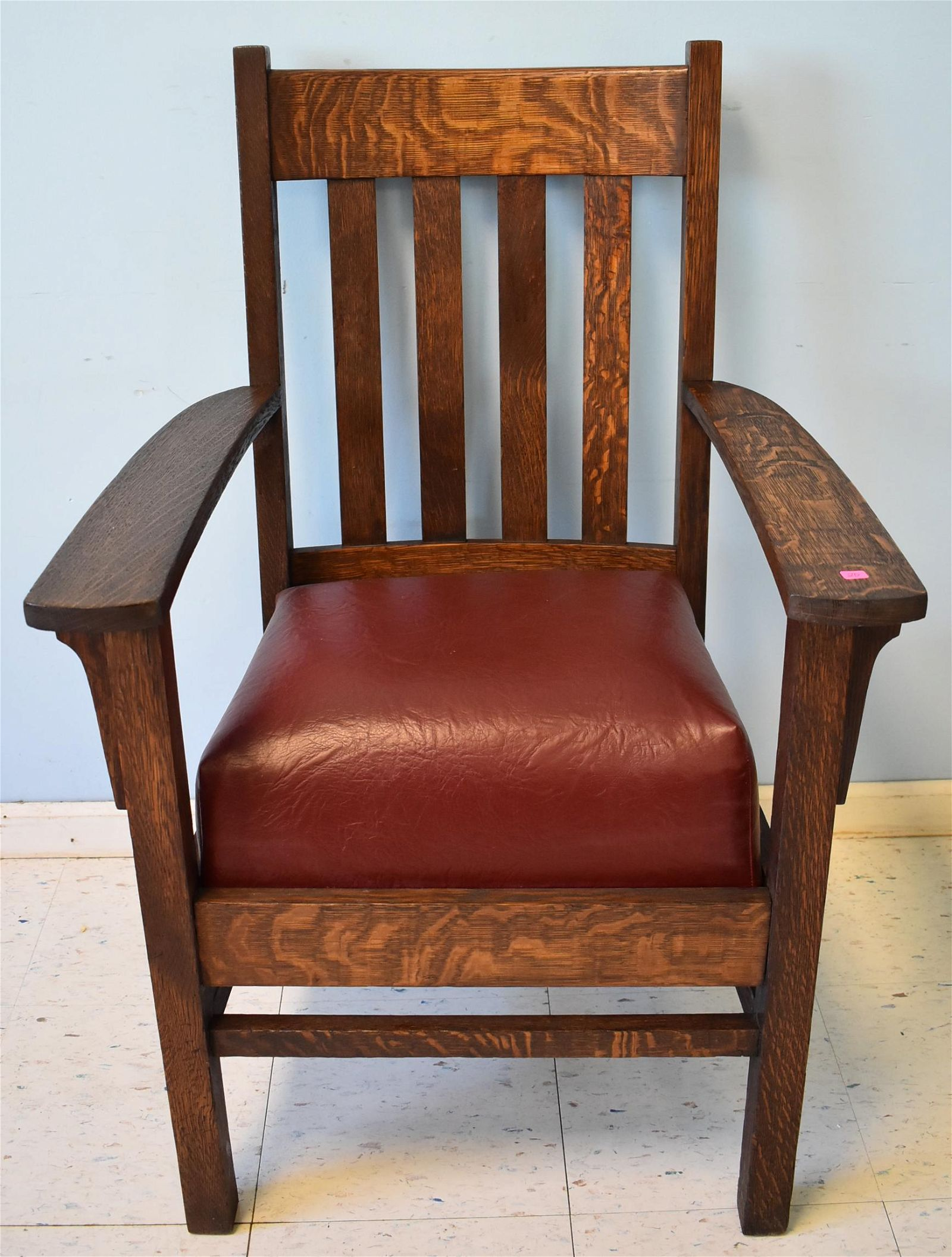 Mission Oak Arts & Crafts Chair