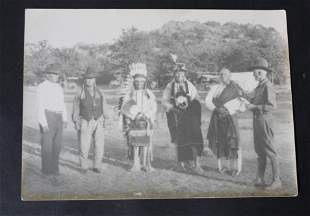 Early American Indian Photograph