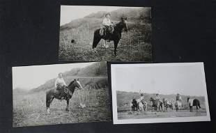 Vintage Western Postcards & Photograph(3)