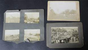 Collector's Lot of Antique Train Photos (6)