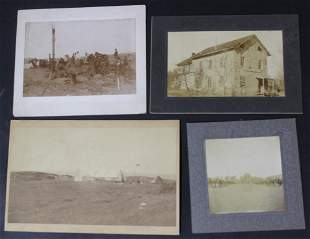 Collector's Lot of Early Western Photos. (4)