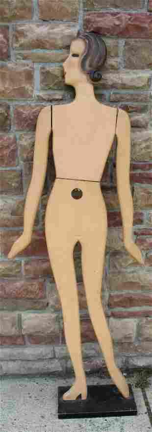 Superb and Rare Art Deco Mannequin Figure