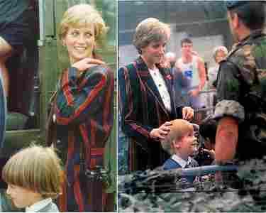 Princess Diana Worn Paul Costello Jacket