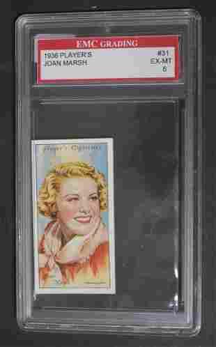 1939 Player's Joan Marsh Card