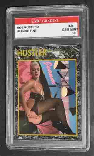 1992 Jeanne Fine Hustler Card
