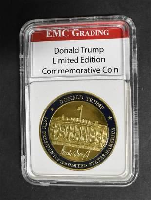 Donald Trump Ltd Ed Coin