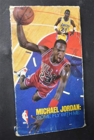 Micheal Jordan Come Fly With Me Tape