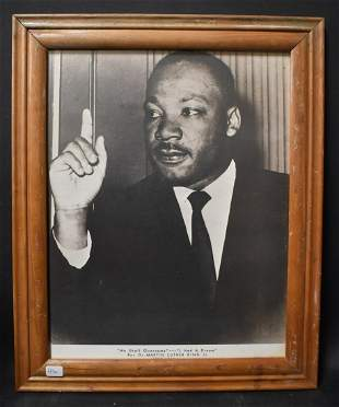 Martin Luther King Photograph