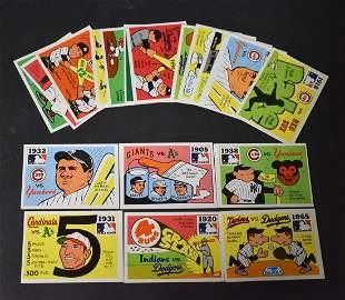1970 Fleer World Series Baseball Cards (19)