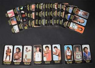 1971 Topps Basketball Trio Sticker Complete Set (26)
