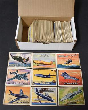 1952 Topps Wings Cards (110)