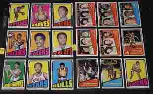 1972 Topps Basketball Lot (18)