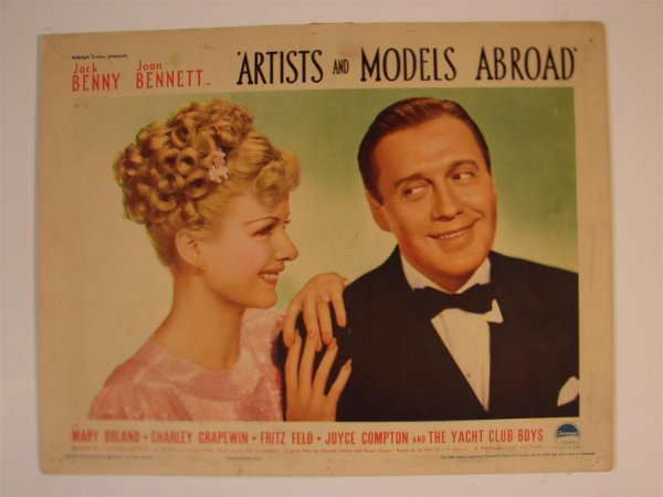 11: ARTISTS AND MODELS ABROAD TITLE CARD