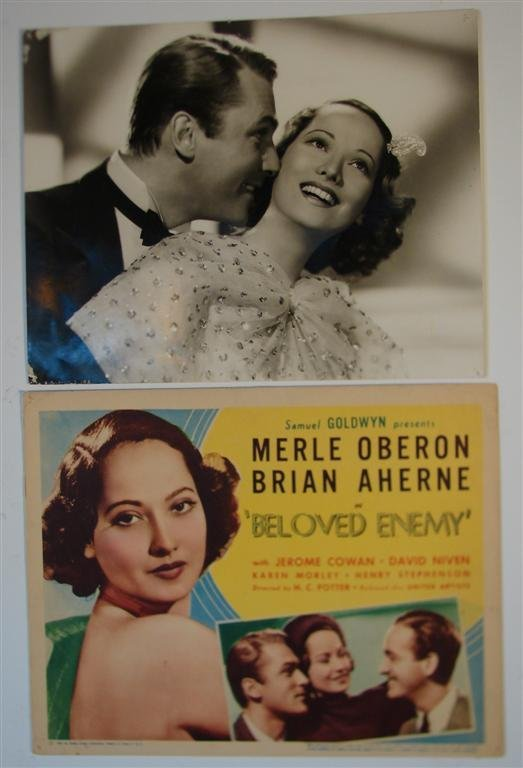 12: BELOVED ENEMY TITLE CARD & PHOTOGRAPH