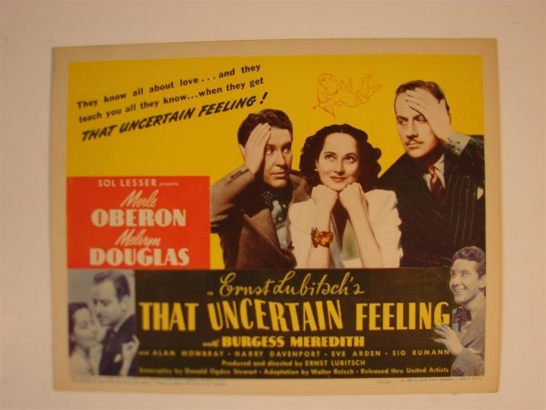 13: THAT UNCERTAIN FEELING TITLE CARD