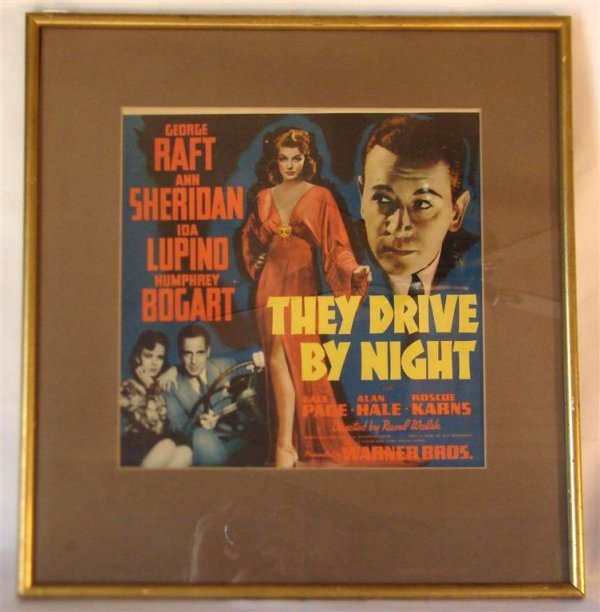 17: THEY DRIVE BY NIGHT MOVIE CARD