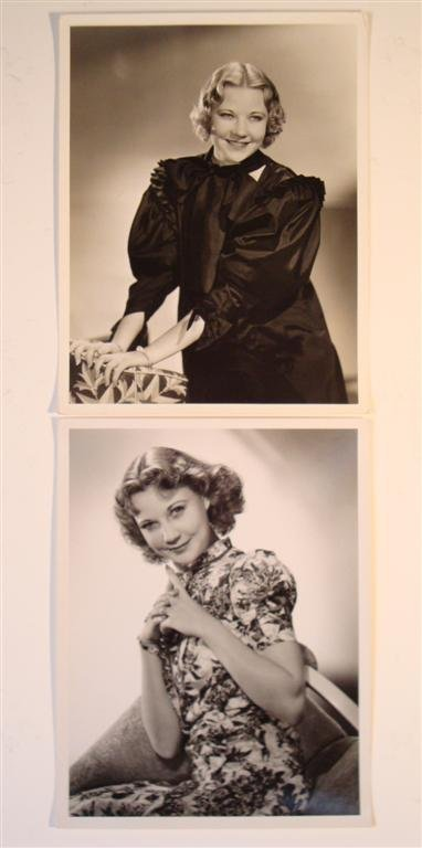 187: TWO CLARENCE SINCLAIR BULL PHOTOGRAPHS OF UNA MERK