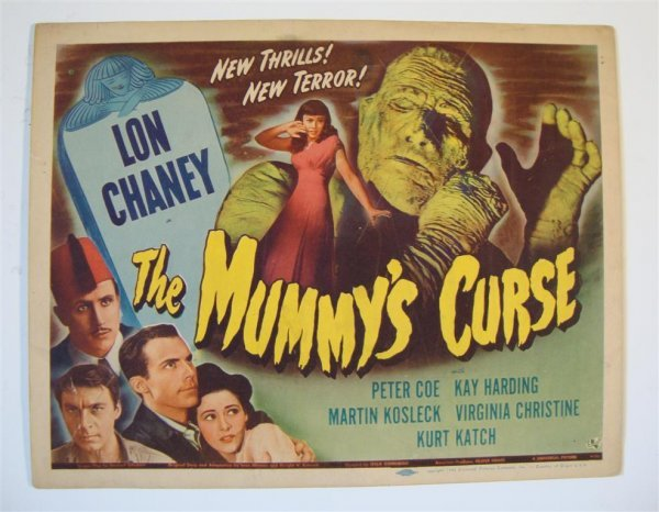 248: THE MUMMY'S CURSE TITLE CARD