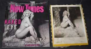(1)Miami New Times. With Bunny Yeager On Cover. With