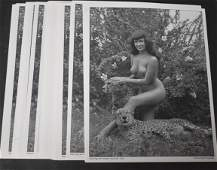 (25)+ Photos Bettie Page With Cheetahs.