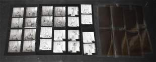 Unknown Model Contact Sheets & Negatives (30+)