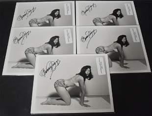 Bunny Yeager Sgd. Photos (5)