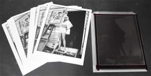 (20)+ Photos & 8x10 Negative Bunny Yeager.