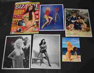 (1) Blizarre Magazine. (5) Photos.
