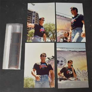 Sylvester Stallone Snapshots by Bunny Yeager with