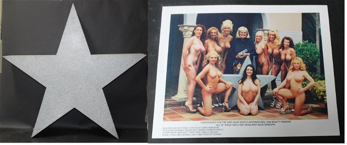Bunny Yeager Used Prop Star With Photos (3)